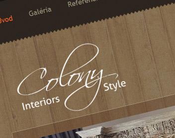Colony – predaj rustikálneho nábytku