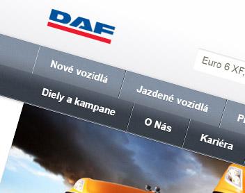 Stabo – predaj vozidiel DAF
