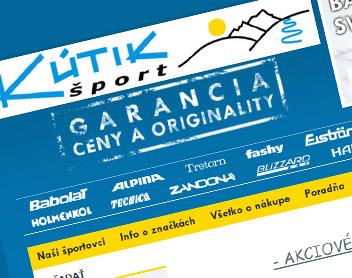 Kutik Sport – online športový obchod
