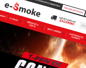 E-smoke – elektronické cigarety